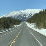 Auf dem Weg ins Skigebiet