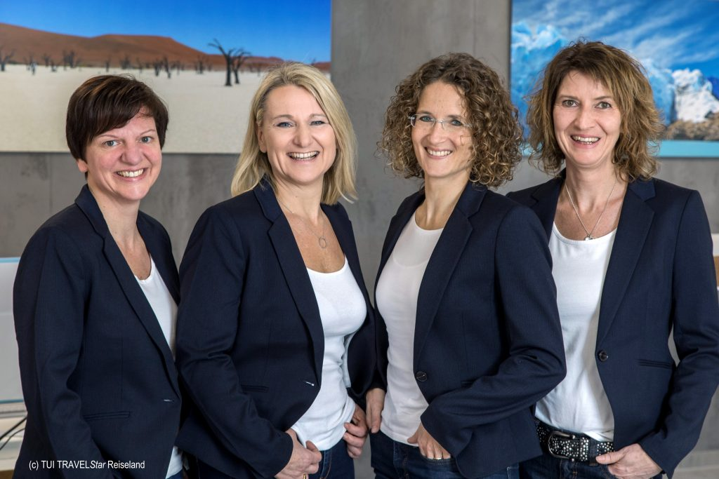 Das Reisebüro-Experten Team TTS Reiseland