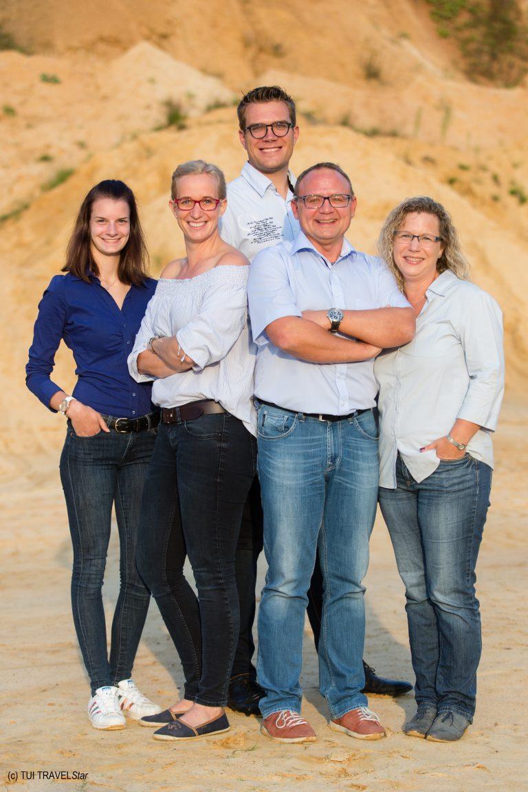 Das Team aus dem TUI TRAVELStar Reisebüro Bode stellt sich vor