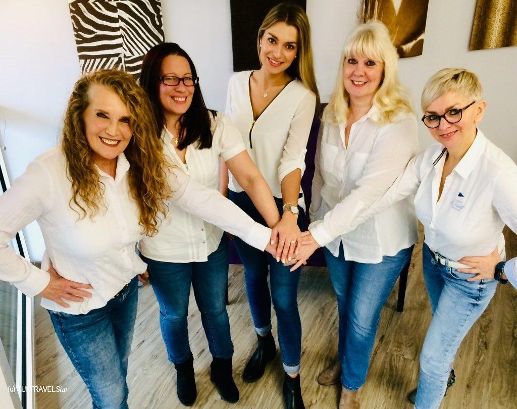Team des TUI TRAVELStar Reisebüro Kubutsch
