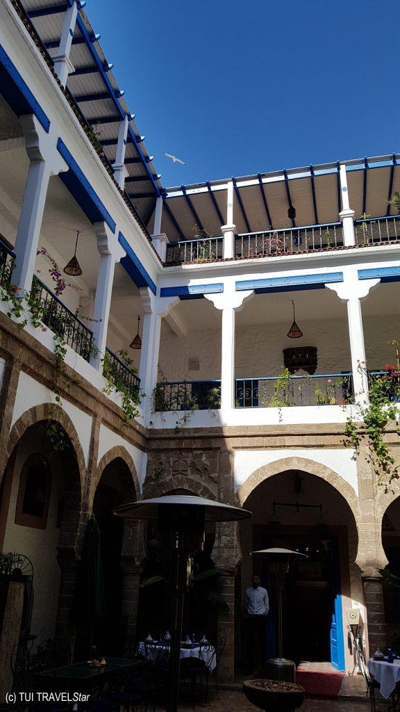 Innenhof eines Riad