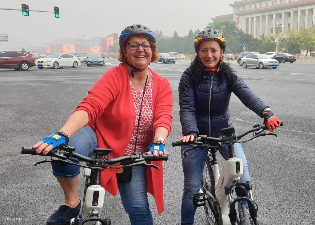 Radtour durch Peking