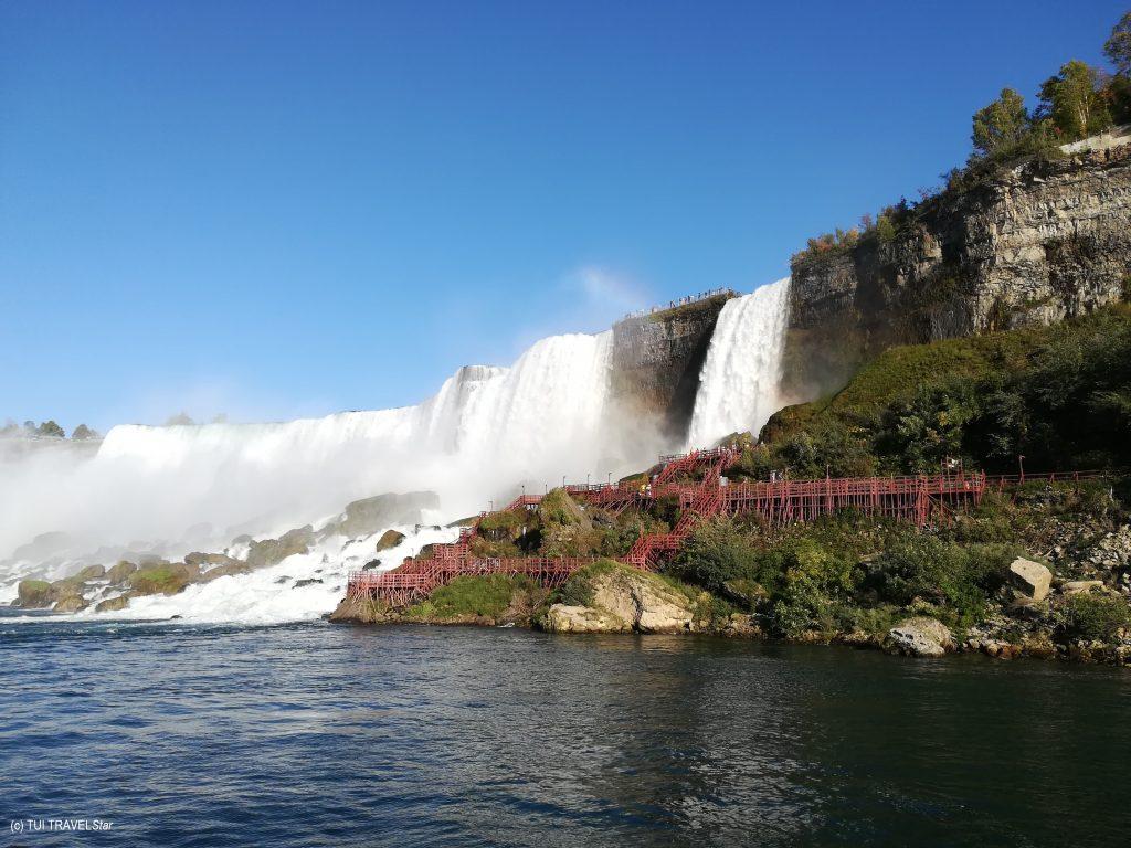 Wasserfall große Seen