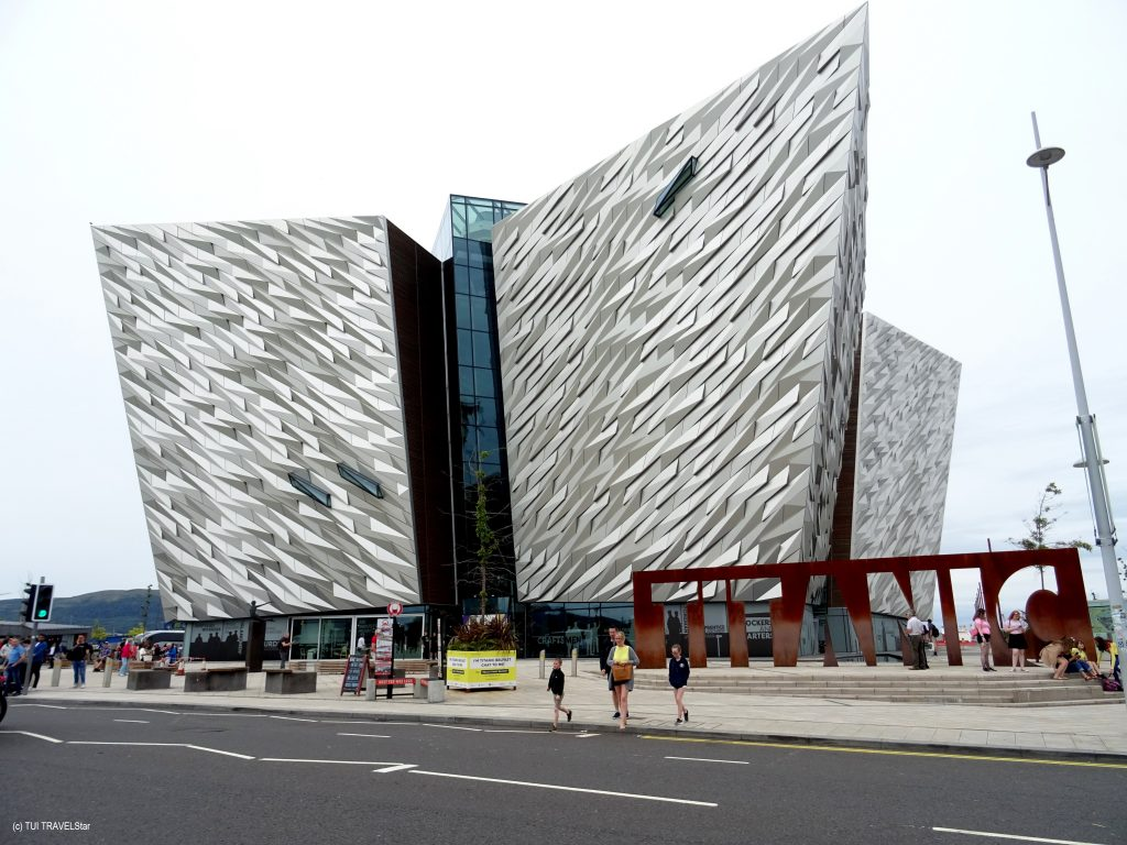 Irland Titanic Museum