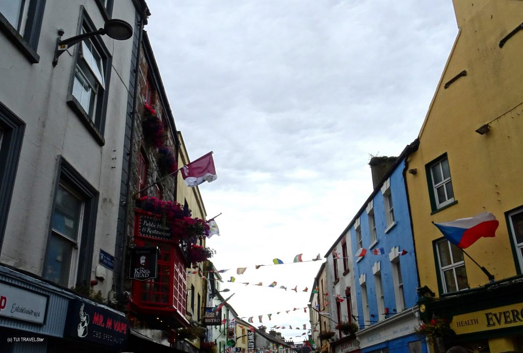 Irland Buntes Galway