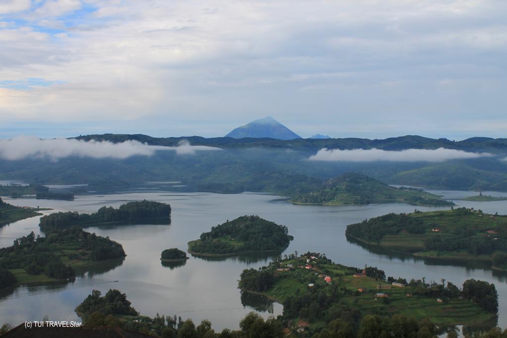 Landschaft Uganda